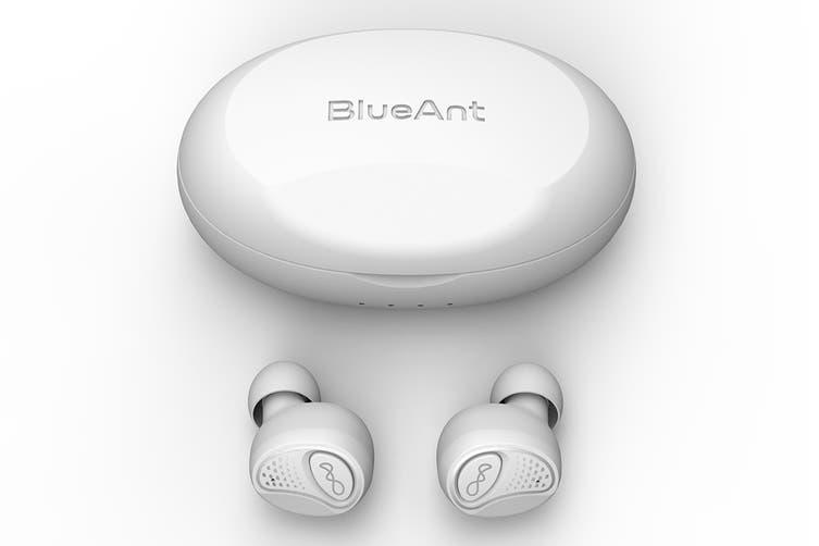 BlueAnt Pump AIR Wireless In-Ear Sports Headphones - White