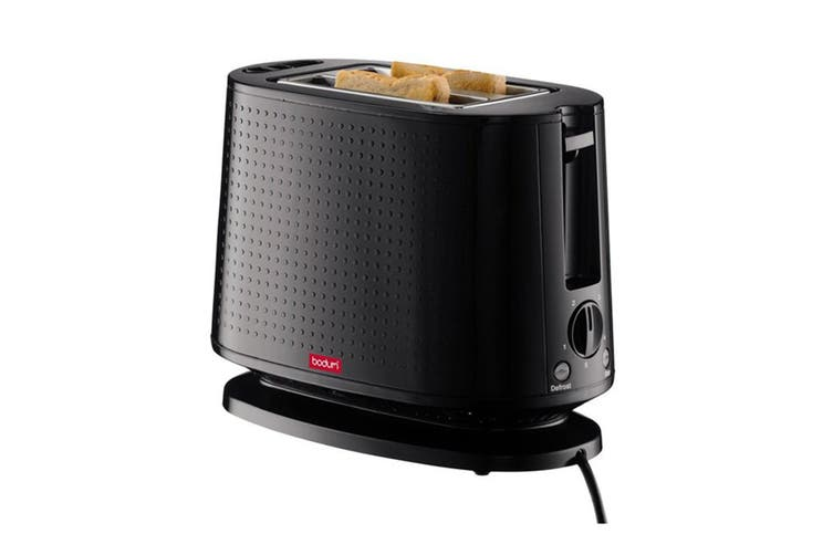 Bodum Bistro 2 Slice Toaster - Black (10709-01AUS-3)