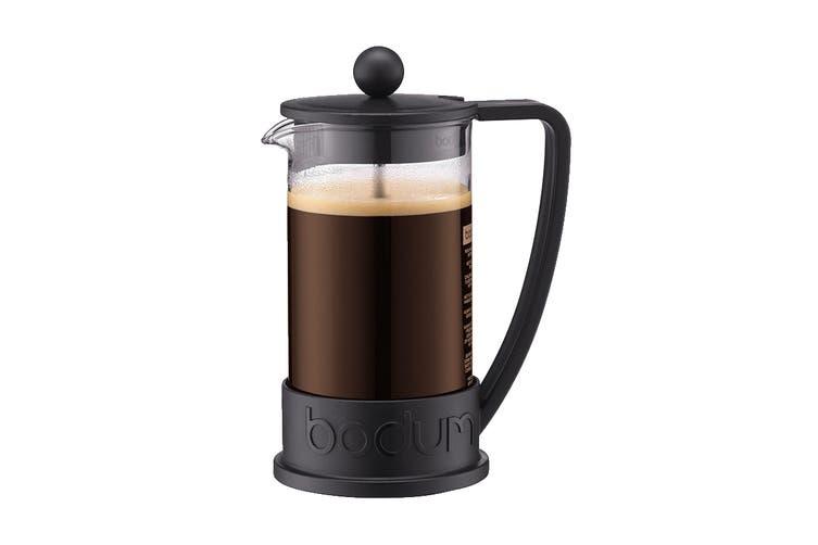 Bodum Brazil French Press Coffee Maker - Black, 8 Cup, 1.0 L, 34 oz (10938-01)