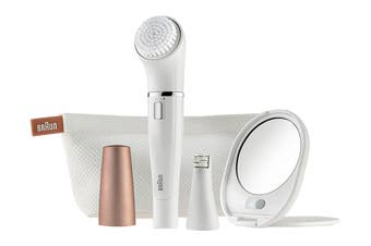 Braun Face 831 Beauty Edition Mini Facial Epilator & Facial Cleansing Brush (81475201)