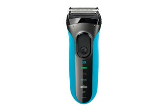 Braun Series 3 ProSkin 3010s Wet/Dry Electric Shaver - Blue (81607199)