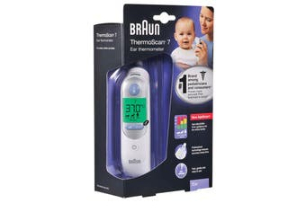 Braun Ear Thermoscan 7 Thermometer (6520) - White