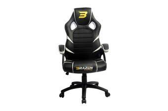 Brazen Puma PC Gaming Chair (White)