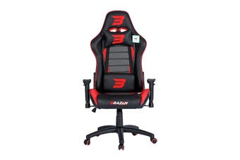 Brazen Phantom Elite PC Gaming Chair (Red)