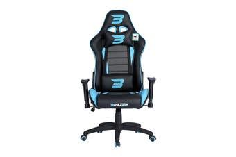 Brazen Phantom Elite PC Gaming Chair (Blue)