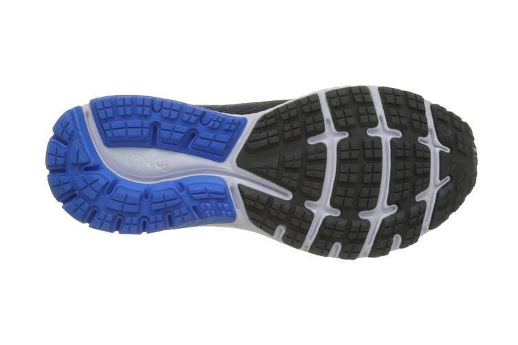 Brooks Men's Ghost 10 Running Shoe (Ebony/Metallic Charcoal/Electr, Size 8 US)