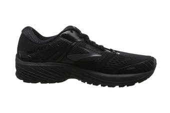 Brooks Men's Adrenaline GTS 18 Running Shoe (Black/Black, Size 7.5 US)
