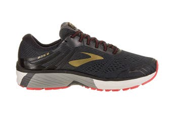 Brooks Men's Adrenaline GTS 18 Running Shoe (Black/Gold/Red, Size 10.5 US)