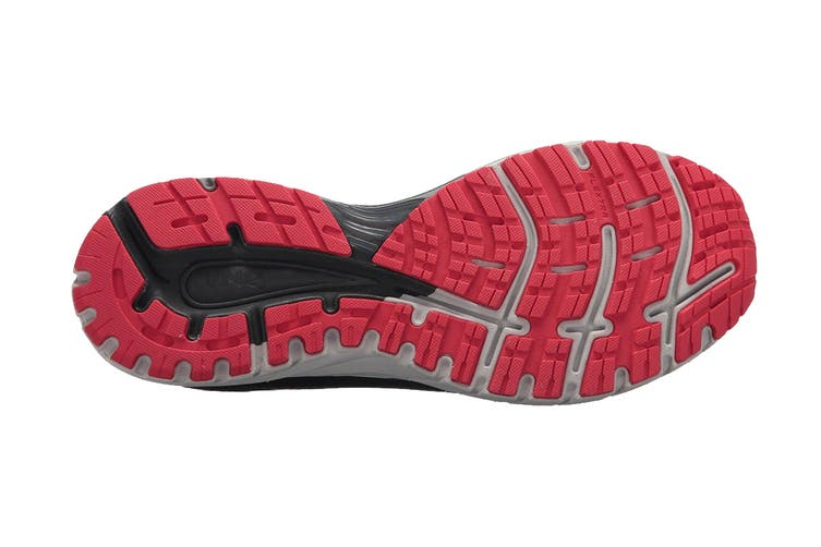 Brooks Men's Adrenaline GTS 18 Running Shoe (Black/Gold/Red, Size 11.5 US)