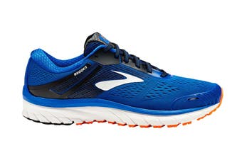 Brooks Men's Adrenaline GTS 18 Running Shoe (Blue/Black/Orange)