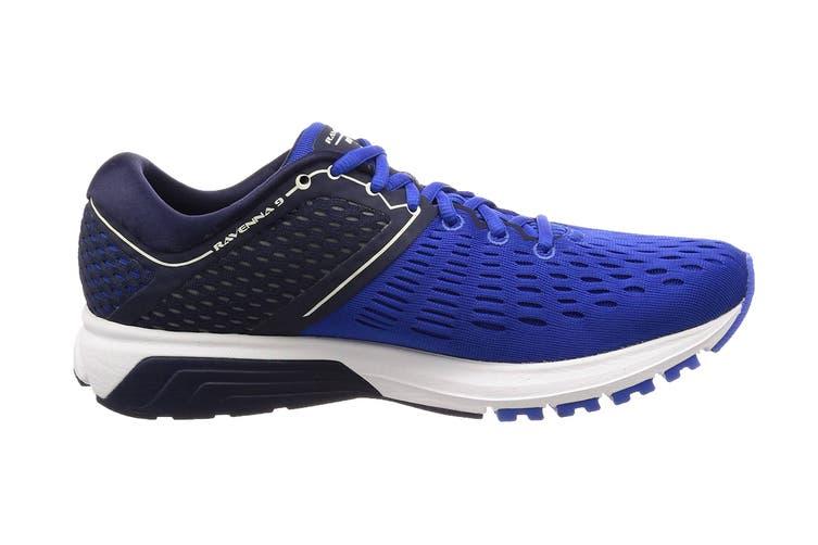 Brooks Men's Ravenna 9 Running Shoe (Blue/Navy/White, Size 10.5 US)