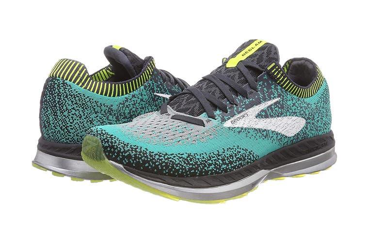 Brooks Men's Bedlam/FA18 Running Shoe (Black/Teal/Nightlife, Size 11 US)