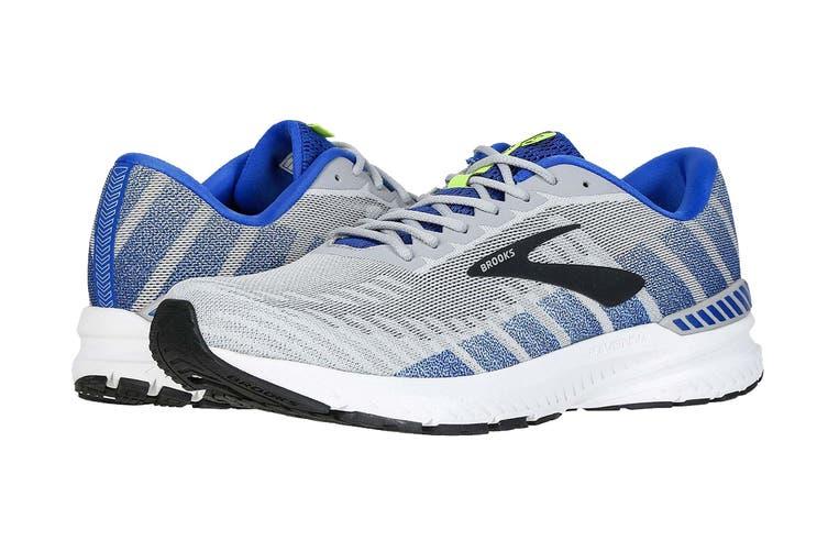 Brooks Men's Ravenna 10/SP19 Running Shoe (Alloy/Blue/Nightlife, Size 10.5 US)