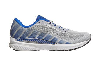 Brooks Men's Ravenna 10/SP19 Running Shoe (Alloy/Blue/Nightlife, Size 11 US)