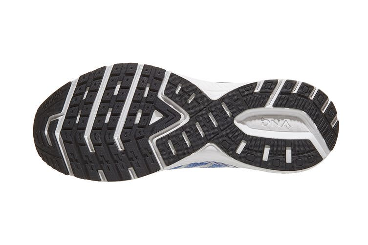 Brooks Men's Ravenna 10/SP19 Running Shoe (Alloy/Blue/Nightlife, Size 8.5 US)