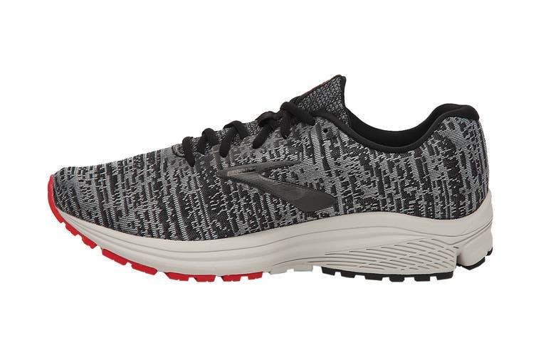 Brooks Men's Signal Running Shoe (Black/Grey/Red, Size 7.5 US)