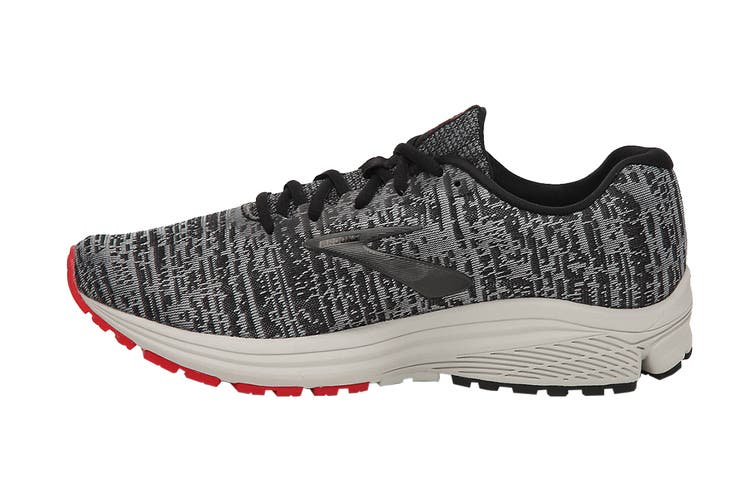 Brooks Men's Signal Running Shoe (Black/Grey/Red, Size 7 US)