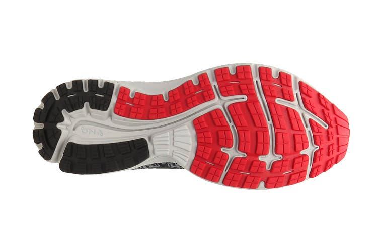 Brooks Men's Signal Running Shoe (Black/Grey/Red, Size 8.5 US)