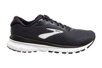 Brooks Men's Adrenaline GTS20 Running Shoe (Black/Grey/Ebony, Size 12)