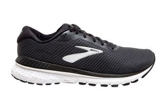 Brooks Men's Adrenaline GTS20 Running Shoe (Black/Grey/Ebony, Size 9.5)