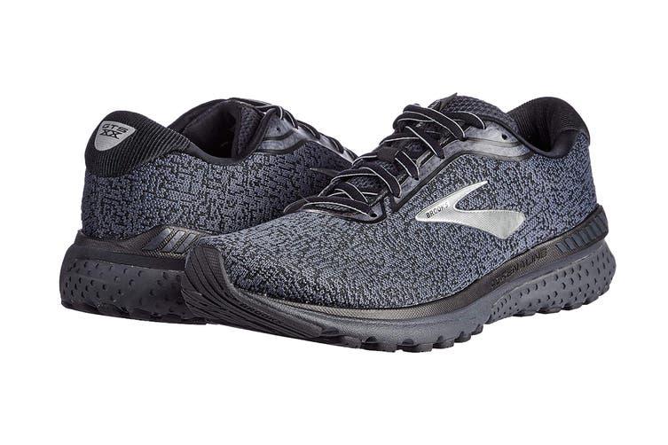 Brooks Men's Adrenaline GTS 20 Running Shoe (Black/Ebony, Size 13 US)