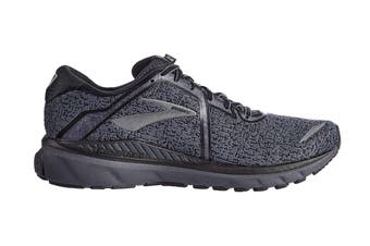 Brooks Men's Adrenaline GTS 20 Running Shoe (Black/Ebony, Size 8 US)