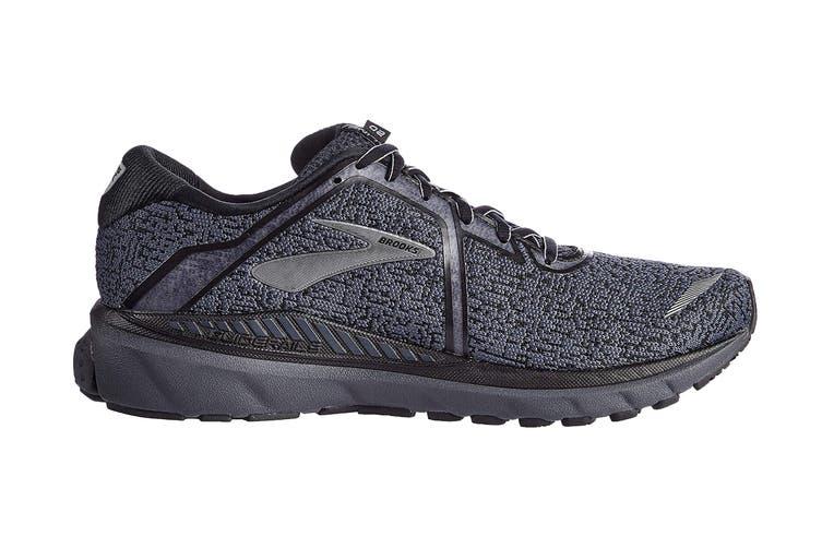 Brooks Men's Adrenaline GTS 20 Running Shoe (Black/Ebony, Size 9.5 US)