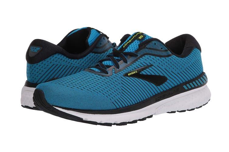 Brooks Men's Adrenaline GTS 20 Running Shoe (Blue/Black/Nightlife, Size 10 US)