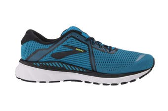 Brooks Men's Adrenaline GTS 20 Running Shoe (Blue/Black/Nightlife)