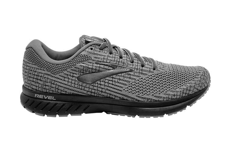 Brooks Men's Revel 3/SP20 Running Shoe (Primer/Ebony/Black, Size 9 US)