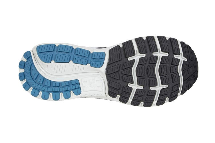 Brooks Men's Ghost 12 Running Shoe (Black/Grey/Stellar, Size 11 US)