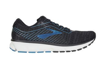 Brooks Men's Ghost 12 Running Shoe (Black/Grey/Stellar, Size 9 US)