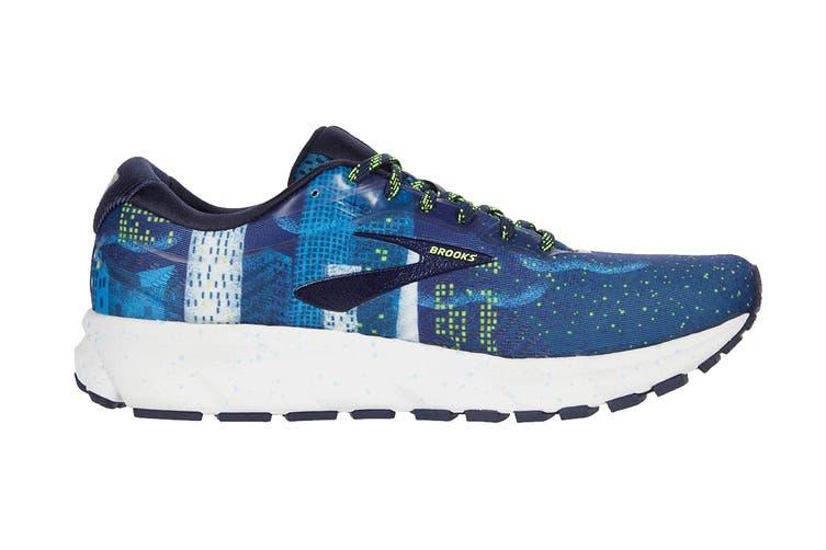 Brooks Men's Ghost 12 Running Shoe (Navy/Blue/Nightlife, Size 10.5 US)