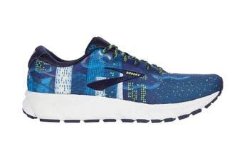 Brooks Men's Ghost 12 Running Shoe (Navy/Blue/Nightlife)