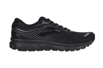 Brooks Men's Ghost 12 Running Shoe (Black/Grey)