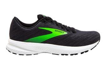 Brooks Men's Launch 7 Running Shoe (Black/Green)