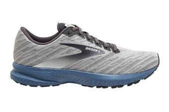 Brooks Men's Launch 7 Running Shoe (Antarctica/Black/Stellar, Size, 12)