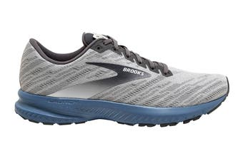 Brooks Men's Launch 7 Running Shoe (Antarctica/Black/Stellar, Size, 8)
