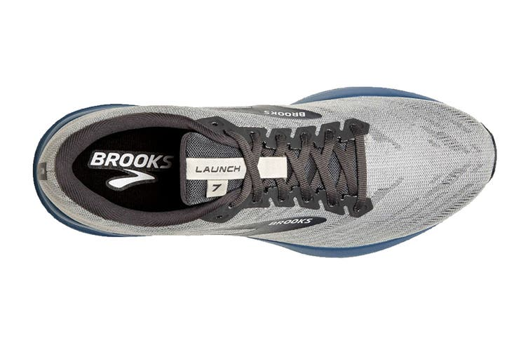 Brooks Men's Launch 7 Running Shoe (Antarctica/Black/Stellar, Size, 9)