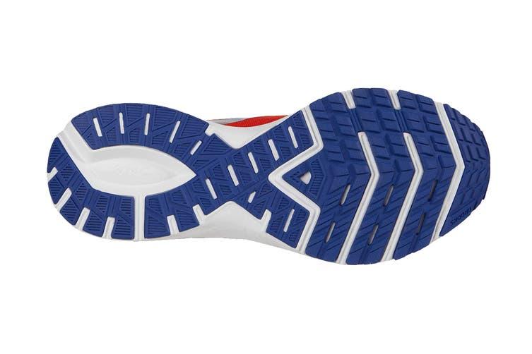 Brooks Men's Launch 7 Running Shoe (Cherry/Red/Mazarine, Size 10 US)