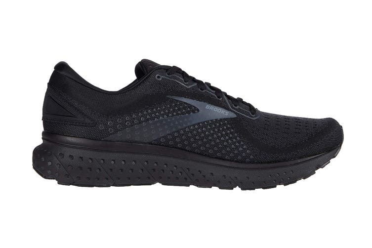 Brooks Men's Glycerin 18 Running Shoe (Black/Ebony, Size 11 US)