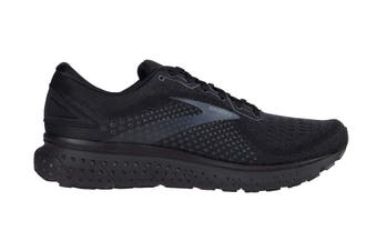Brooks Men's Glycerin 18 Running Shoe (Black/Ebony)