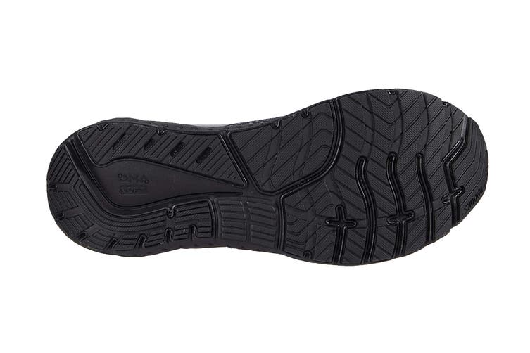 Brooks Men's Glycerin 18 Running Shoe (Black/Ebony, Size 8 US)