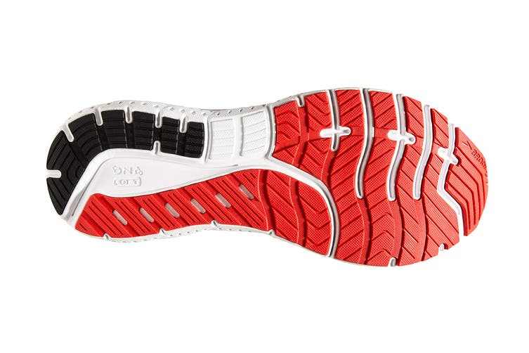 Brooks Men's Transcend 7 Running Shoe (Mazarine/Black/Red, Size 9.5 US)