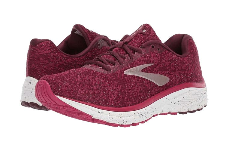 Brooks Women's Anthem 2 Running Shoe (Fig/Pink/Champagne, Size 8 US)