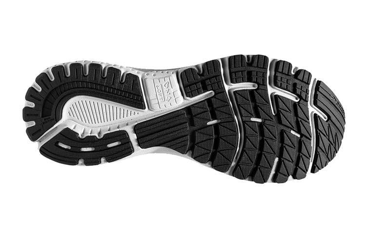 Brooks Women's Adrenaline GTS 20 Running Shoe (White/Black/Oyster, Size 7.5 US)