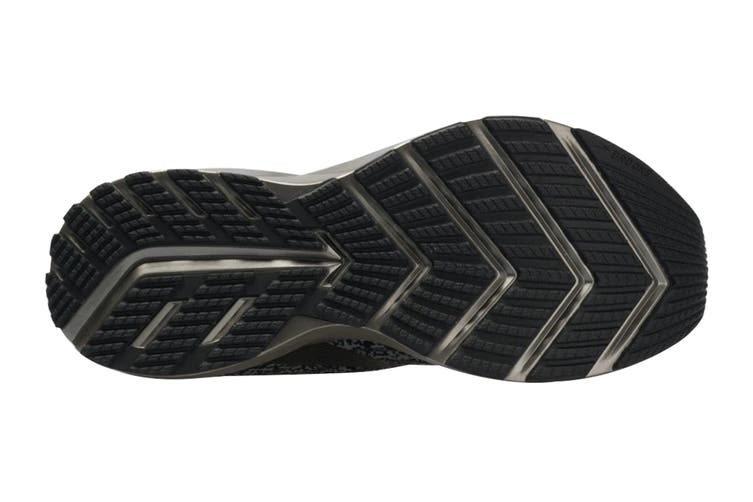 Brooks Women's Levitate 3 Running Shoe (Black/Ebony/Silver, Size, 8)