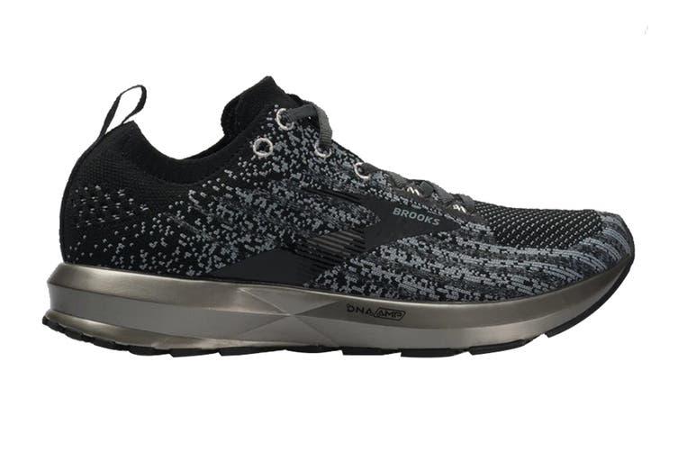 Brooks Women's Levitate 3 Running Shoe (Black/Ebony/Silver, Size, 9.5)