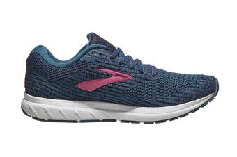Brooks Women's Revel 3/SP20 Running Shoe (Blue/Navy/Beetroot)