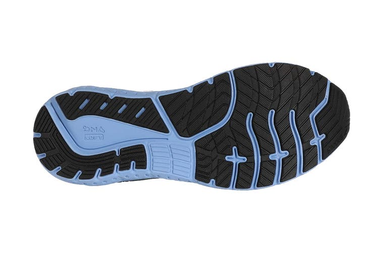 Brooks Women's Glycerin 18 Running Shoe (Black/Ebony/Cornflower, Size 8.5 US)